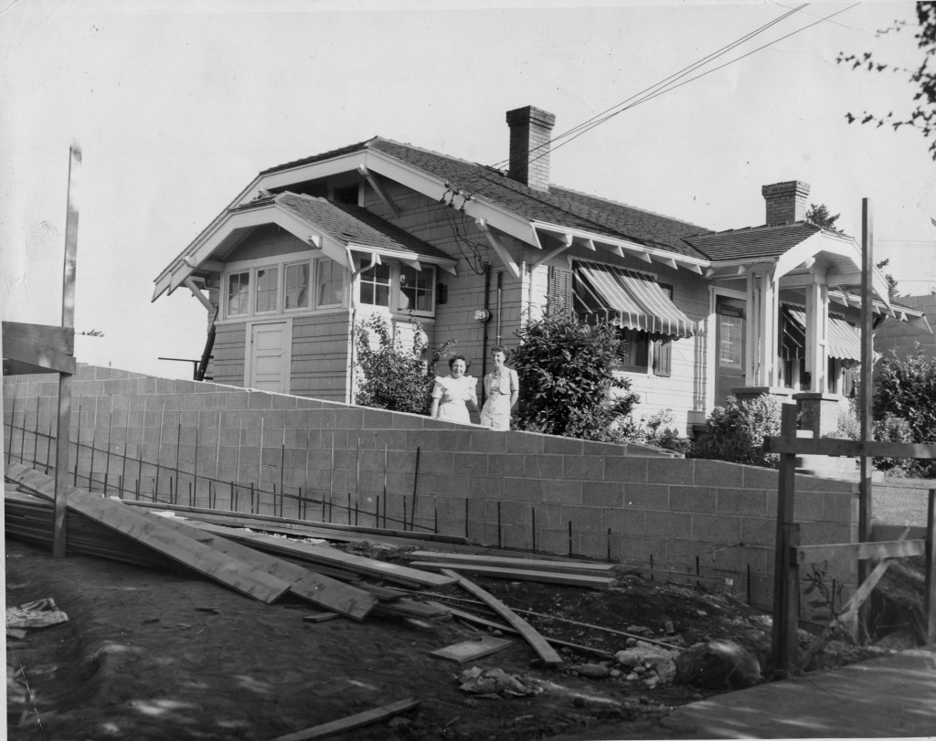 """""""Fred Meyer House""""  Ruth  Murray and sister, Hannah Peters Noonan"""