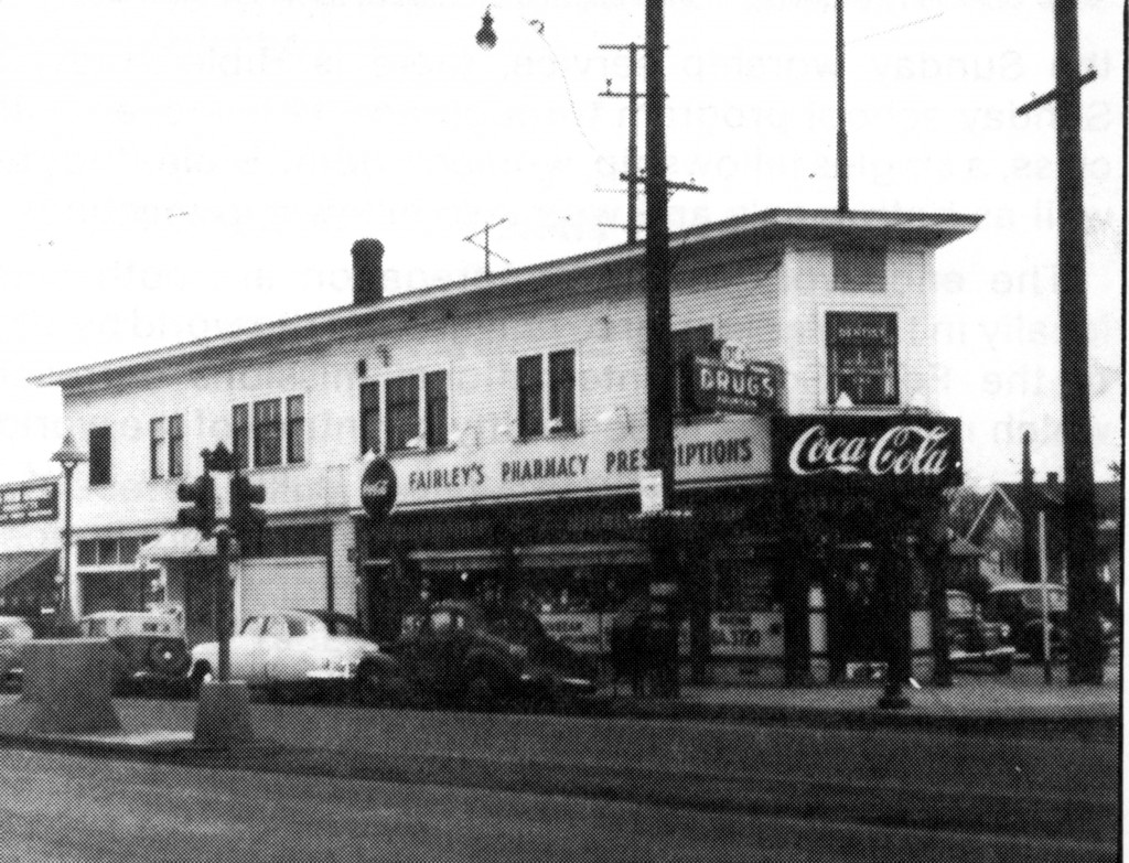 Fairley's Pharmacy back in the day.